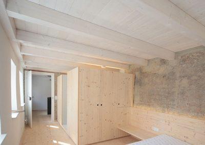 Schreinerei Hundhammer Haus Mindelheim Objektdesign Schlafzimmer mit Bad