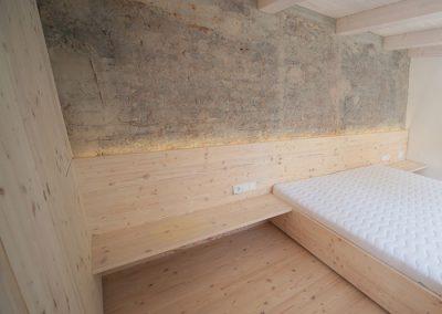 Schreinerei Hundhammer Objerktdesign Haus Mindelheim  1. Obergeschoss Schalfraum
