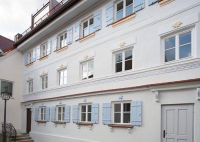 Schreinerei Hundhammer Objektdesign Haus Mindelheim Fassade